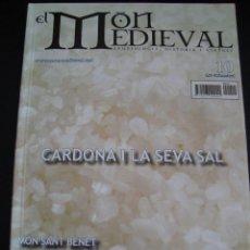 Coleccionismo de Revistas y Periódicos: EL MON MEDIEVAL 10. CARDONA I LA SEVA SAL. CATALÁN.. Lote 56589849