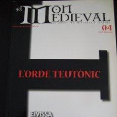 Coleccionismo de Revistas y Periódicos: EL MON MEDIEVAL 04. L´ORDE TEUTONIC. CATALÁN.. Lote 56589867