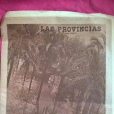 Coleccionismo de Revistas y Periódicos: RIADA DE VALENCIA. NÚMERO ESPECIAL DE LAS PROVINCIAS. Lote 56591916