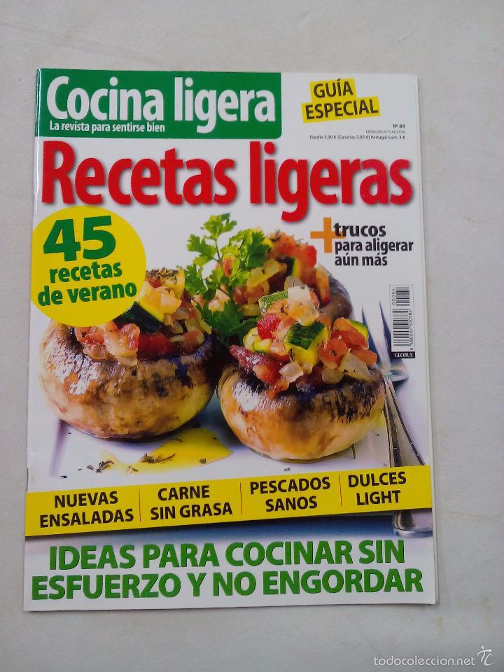 Cocina Ligera Recetas | Revista Cocina Ligera Recetas Ligeras Nº 84 Comprar Otras