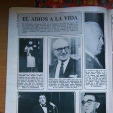 Coleccionismo de Revistas y Periódicos: RECORTE FERNANDEL COCO CHANEL . Lote 56601640