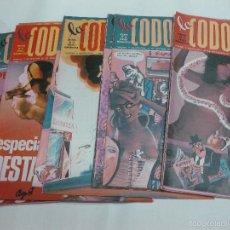 Coleccionismo de Revistas y Periódicos: LA CODORNIZ DECANA DE LA PRENSA HUMORISTICA. 14 NUMEROS DEL AÑO 1975.. Lote 56609045
