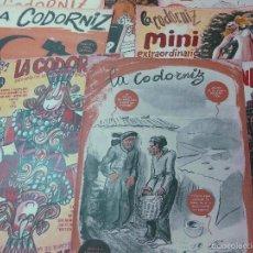Coleccionismo de Revistas y Periódicos: LA CODORNIZ DECANA DE LA PRENSA HUMORISTICA. 15 NUMEROS DEL AÑO 1967.. Lote 56610103
