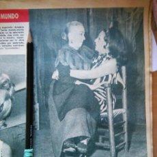 Coleccionismo de Revistas y Periódicos: RECORTE MARIA FERNANDA LADRON DE GUEVARA AMPARO RIVELLES . Lote 56613406