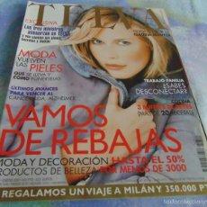 Coleccionismo de Revistas y Periódicos: TELVA Nº 741 - ENERO 2001- CELIA VILLALOBOS - ANGELES CASO - CLAUDIA SCHIFFER - RAFAEL MONEO. Lote 56655365