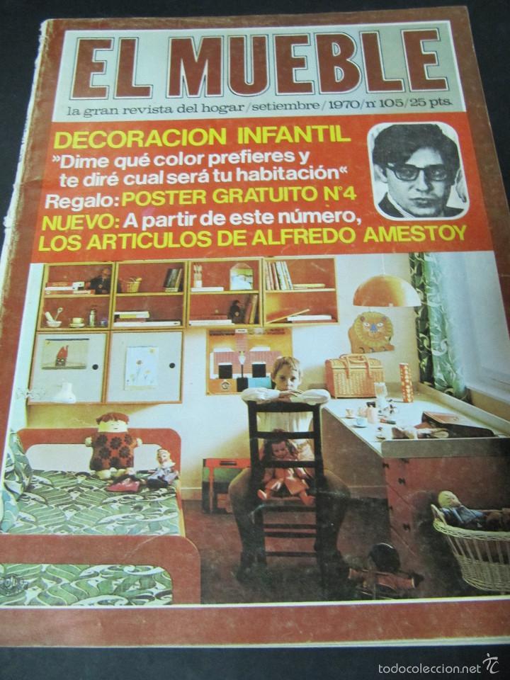 revista el mueble n septiembre autentica decoracion vintage revistas