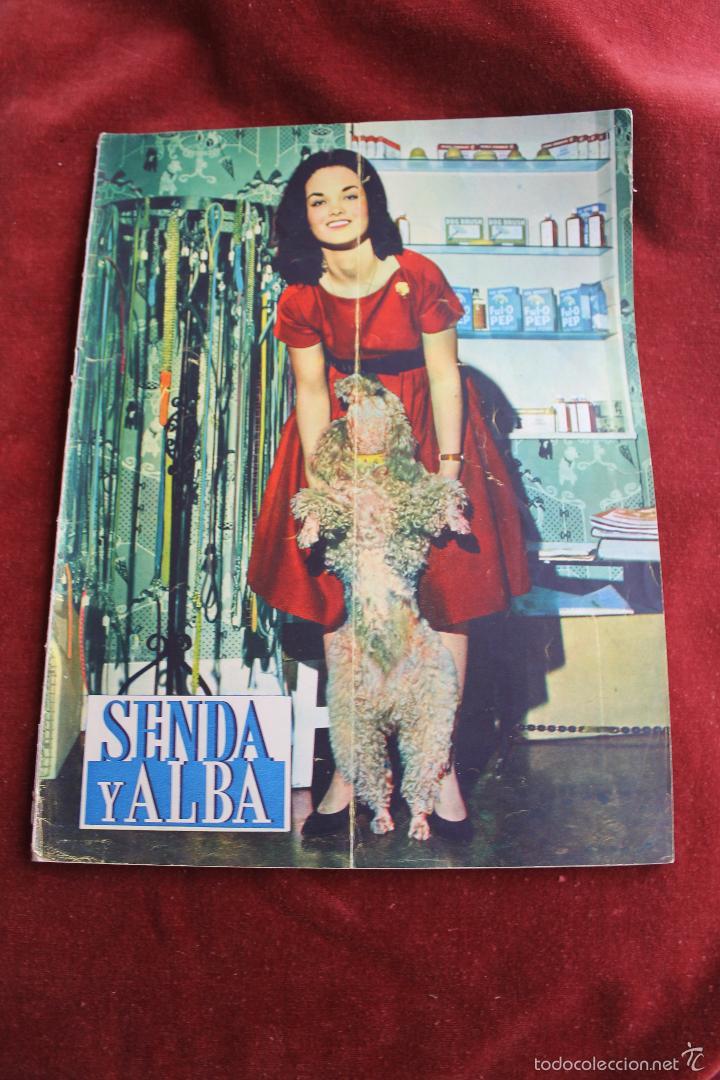 REVISTA SENDA Y ALBA Nº 203, 1960 (Coleccionismo - Revistas y Periódicos Modernos (a partir de 1.940) - Otros)