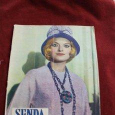 Coleccionismo de Revistas y Periódicos: REVISTA SENDA Y ALBA Nº 212, 1961. Lote 56688298