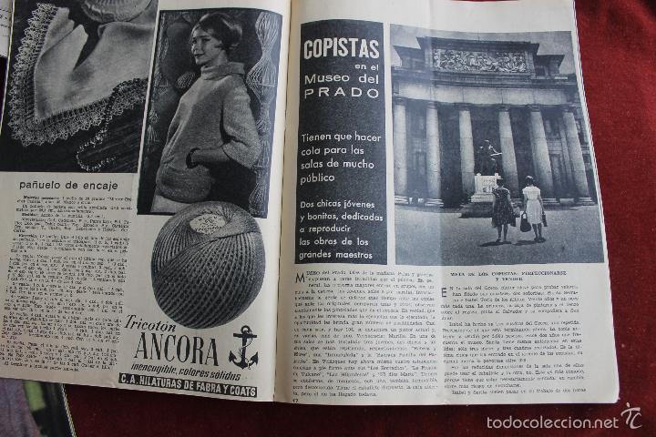 Coleccionismo de Revistas y Periódicos: REVISTA SENDA Y ALBA Nº 217, 1961 COPISTAS EN EL MUSEO DEL PRADO. - Foto 3 - 56688407