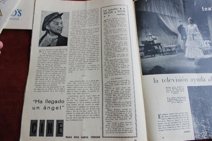 Coleccionismo de Revistas y Periódicos: REVISTA SENDA Y ALBA Nº 217, 1961 COPISTAS EN EL MUSEO DEL PRADO. - Foto 4 - 56688407