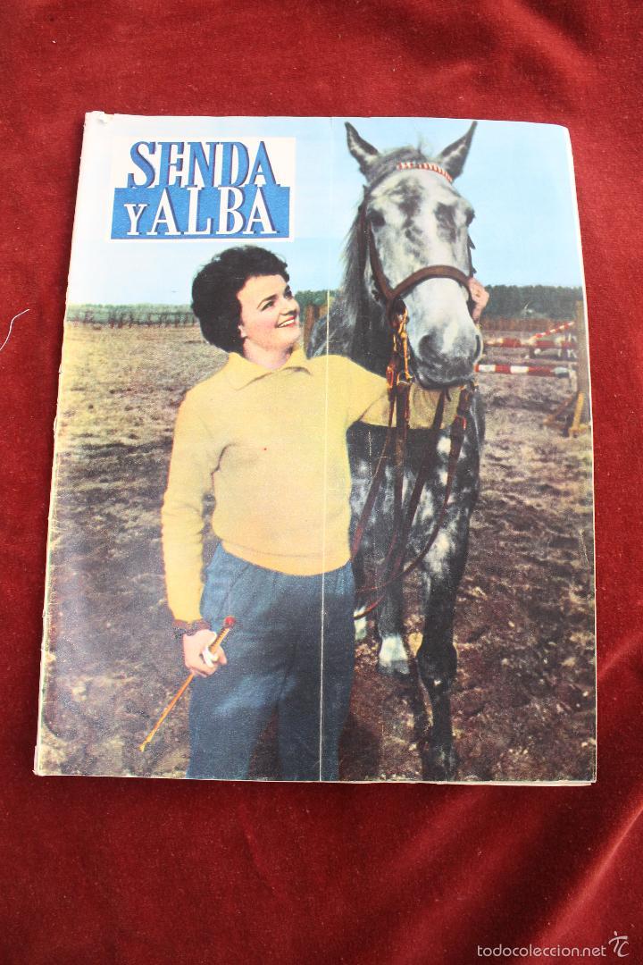 REVISTA SENDA Y ALBA Nº 214, 1961 MADRID CASTILLO FAMOSO (Coleccionismo - Revistas y Periódicos Modernos (a partir de 1.940) - Otros)