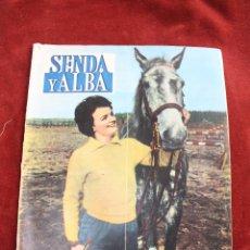 Coleccionismo de Revistas y Periódicos: REVISTA SENDA Y ALBA Nº 214, 1961 MADRID CASTILLO FAMOSO. Lote 56688510