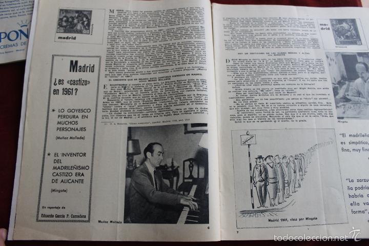 Coleccionismo de Revistas y Periódicos: REVISTA SENDA Y ALBA Nº 214, 1961 MADRID CASTILLO FAMOSO - Foto 2 - 56688510