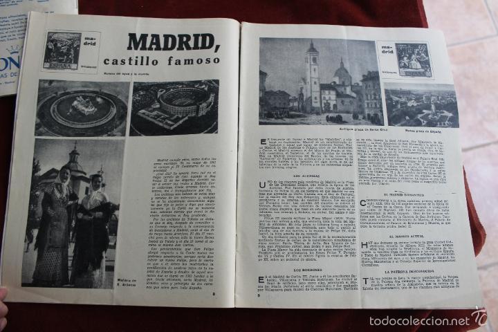 Coleccionismo de Revistas y Periódicos: REVISTA SENDA Y ALBA Nº 214, 1961 MADRID CASTILLO FAMOSO - Foto 3 - 56688510