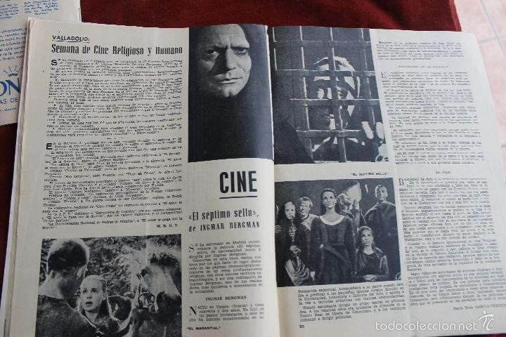 Coleccionismo de Revistas y Periódicos: REVISTA SENDA Y ALBA Nº 214, 1961 MADRID CASTILLO FAMOSO - Foto 4 - 56688510