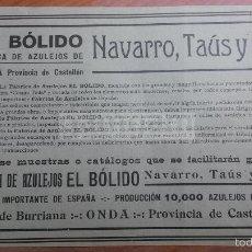 Anuncio de onda castellon fabrica de azulejos comprar revistas y peri dicos antiguos en - Azulejos onda castellon ...