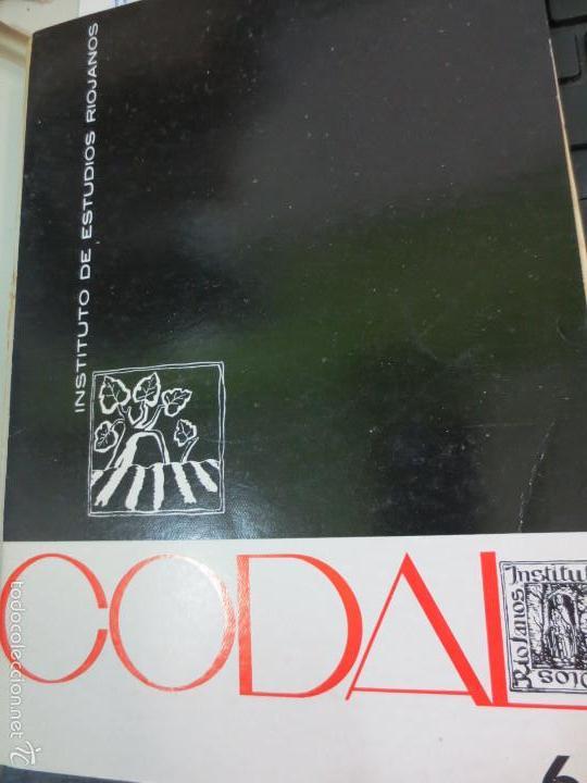 REVISTA CODAL Nº 68 INSTITUTO DE ESTUDIOS RIOJANOS LOGROÑO OCTUBRE-DICIEMBRE 1965 (Coleccionismo - Revistas y Periódicos Modernos (a partir de 1.940) - Otros)