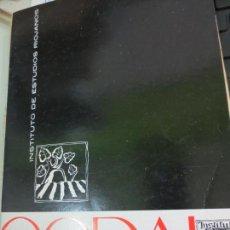 Coleccionismo de Revistas y Periódicos: REVISTA CODAL Nº 68 INSTITUTO DE ESTUDIOS RIOJANOS LOGROÑO OCTUBRE-DICIEMBRE 1965. Lote 56717364
