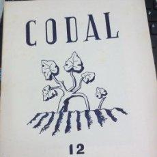 Coleccionismo de Revistas y Periódicos: REVISTA CODAL Nº 12 INSTITUTO DE ESTUDIOS RIOJANOS LOGROÑO OCTUBRE-DICIEMBRE 1951. Lote 56737470