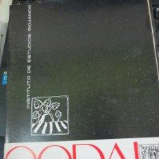 Coleccionismo de Revistas y Periódicos: REVISTA CODAL Nº 61 INSTITUTO DE ESTUDIOS RIOJANOS LOGROÑO ENERO-MARZO 1964. Lote 56737493