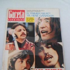 Coleccionismo de Revistas y Periódicos: REVISTA GACETA ILUSTRADA N° 750 FEB -1971 ESPECIAL 16 PAGS THE BEATLES JOHN LENNON PAUL MCCARTNEY ... Lote 56810804