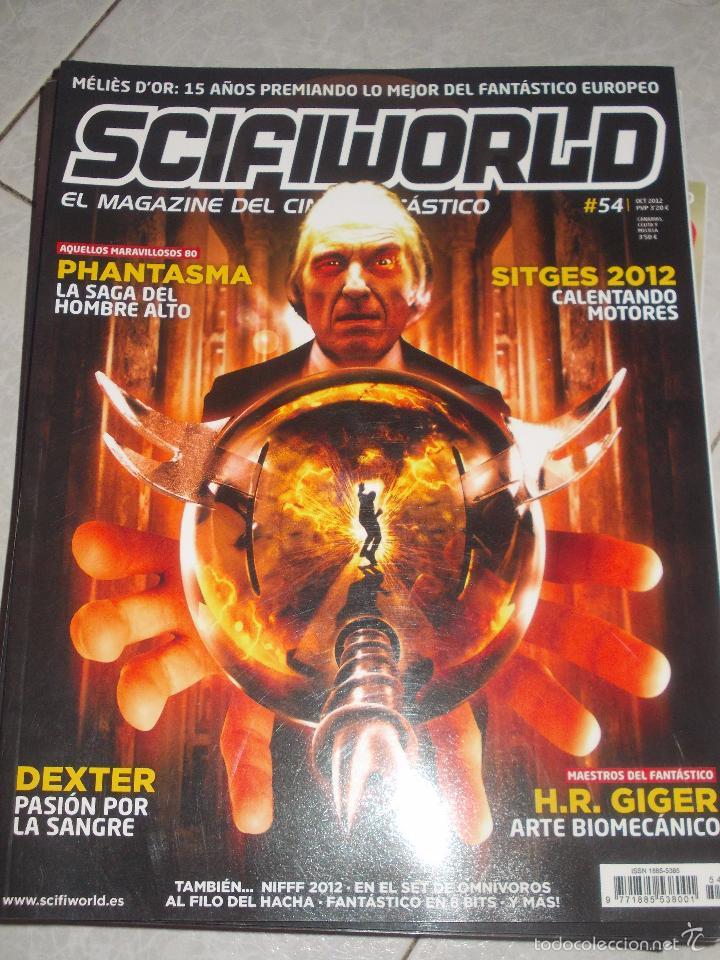 SCIFIWORLD 54-ESPECIAL PHANTASMA-DESCATALOGADA !!!! (Coleccionismo - Revistas y Periódicos Modernos (a partir de 1.940) - Otros)