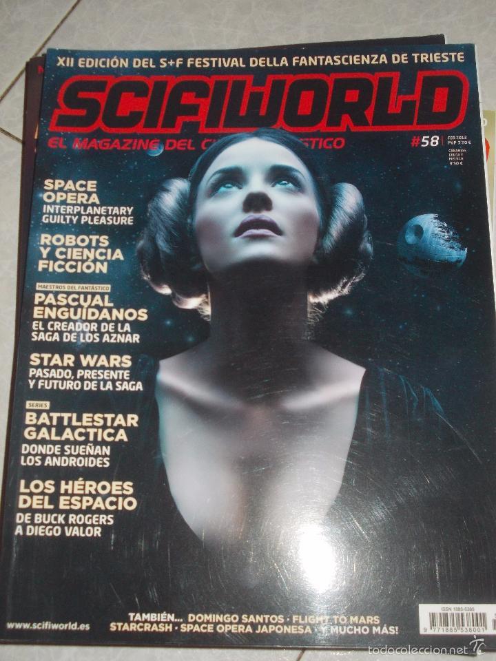 SCIFIWORLD 58-ESPECIAL SPACE OPERA-DESCATALOGADA !!!!!! (Coleccionismo - Revistas y Periódicos Modernos (a partir de 1.940) - Otros)