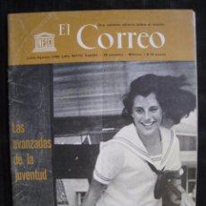 Coleccionismo de Revistas y Periódicos: EL CORREO - UNESCO - JULIO / AGOSTO 1965.. Lote 56829611
