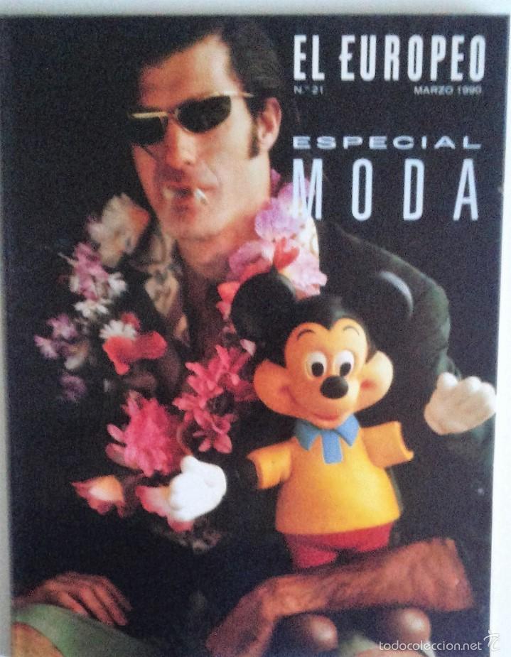 REVISTA EL EUROPEO N. 21 MARZO 1990 - ESPECIAL MODA (Coleccionismo - Revistas y Periódicos Modernos (a partir de 1.940) - Otros)