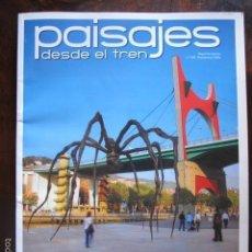 Coleccionismo de Revistas y Periódicos: REVISTA PAISAJES DESDE EL TREN BILBAO NUMERO 229 NOVIEMBRE 2009. Lote 56875770