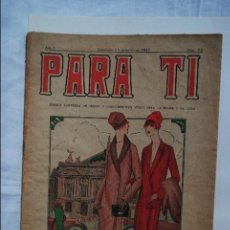 Sammeln von Zeitschriften und Zeitungen - PARA TI, REVISTA ESPAÑOLA 1927 - 56881503
