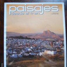 Coleccionismo de Revistas y Periódicos: REVISTA PAISAJES DESDE EL TREN ANTEQUERA NUMERO 228 OCTUBRE 2009. Lote 56882684