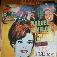 Coleccionismo de Revistas y Periódicos: RECORTE RAQUEL WELCH LUX JABON. Lote 56884287