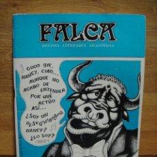 Coleccionismo de Revistas y Periódicos: FALCA Nº 4 , MAYO 1981 - REVISTA LITERARIA ARAGONESA. Lote 56927931