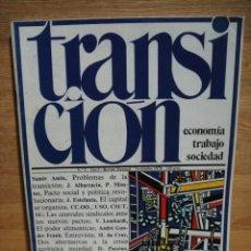 Coleccionismo de Revistas y Periódicos: TRANSICION Nº 2 , AÑO 1978 - REVISTA DE ECONOMIA POLITICA. Lote 56928065