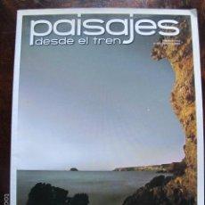 Coleccionismo de Revistas y Periódicos: REVISTA PAISAJES DESDE EL TREN MURCIA NUMERO 230 DICIEMBRE 2009. Lote 56948487