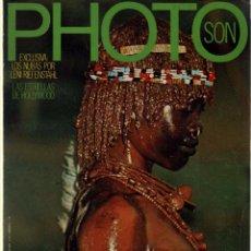 Coleccionismo de Revistas y Periódicos: PHOTO SON Nº 5 LENI RIEFENSTAHL, IRINA IONESCO, YOUSUF KARSH. Lote 180145041