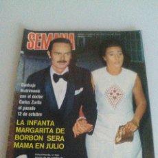 Coleccionismo de Revistas y Periódicos: SEMANA N 1720 AÑO 1973 MARI TRINI ELSA BAEZA PAQUITA TORRES ROCIO DURCAL GIGLIOLA CINQUETTI Y +. Lote 56960775