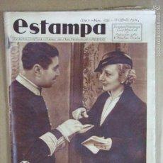 Coleccionismo de Revistas y Periódicos: ESTAMPA REVISTA GRÁFICA Nº 431 18 ABRIL 1936 - ACTRIZ ANA MARÍA CUSTODIO EN EL PARLAMENTO ESPAÑA. Lote 56963482