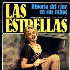 Coleccionismo de Revistas y Periódicos: REVISTA LAS ESTRELLAS. HISTORIA DEL CINE EN SUS MITOS. MARILYN MONROE. Lote 56996518