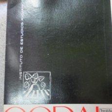 Coleccionismo de Revistas y Periódicos: REVISTA CODAL Nº 63 ISTITUTO DE ESTUDIOS RIOJANOS LOGROÑO JULIO-SEPTIEMBRE 1964. Lote 57010955