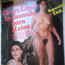 Coleccionismo de Revistas y Periódicos: RECORTE CHARO LOPEZ DESNUDA EN TVE. Lote 57026302