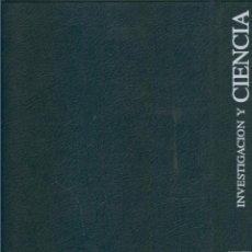 Coleccionismo de Revistas y Periódicos: INVESTIGACION Y CIENCIA TAPAS AO 1998. Lote 57067394