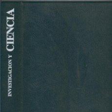 Coleccionismo de Revistas y Periódicos: INVESTIGACION Y CIENCIA TAPAS AO 1993. Lote 57067395