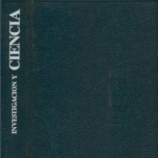 Coleccionismo de Revistas y Periódicos: INVESTIGACION Y CIENCIA TAPAS AO 1990. Lote 151572373