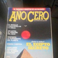 Coleccionismo de Revistas y Periódicos: REVISTA AÑO CERO . Lote 57071188