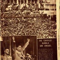 Coleccionismo de Revistas y Periódicos: ABC (JZ) EJEMPLAR JUNIO 1958 DEL ILUSTRE PERIODICO ABC . Lote 57072415