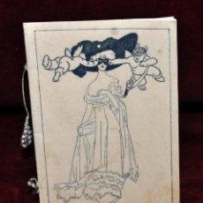 Coleccionismo de Revistas y Periódicos: PROGRAMA DEL CASINO EL GUIXOLENSE. GRAN BAILE DE TRAJES. FEBRERO DE 1911. SANT FELIU DE GUIXOLS. Lote 57080883