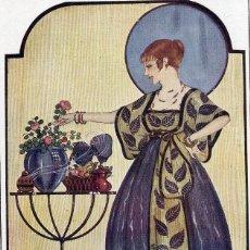 Coleccionismo de Revistas y Periódicos: LOYGORRI 1917 ILUSTRACION HOJA REVISTA. Lote 57087681