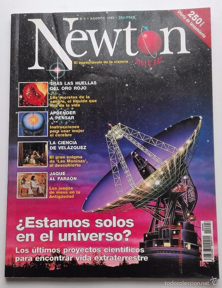 REVISTA NEWTON Nº 4 AGOSTO 1998 (Coleccionismo - Revistas y Periódicos Modernos (a partir de 1.940) - Otros)